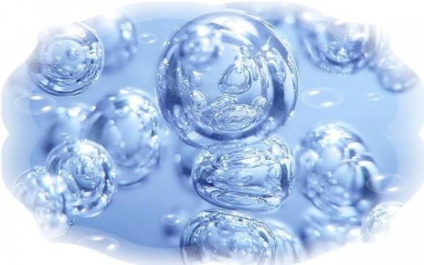 вода с кислородом