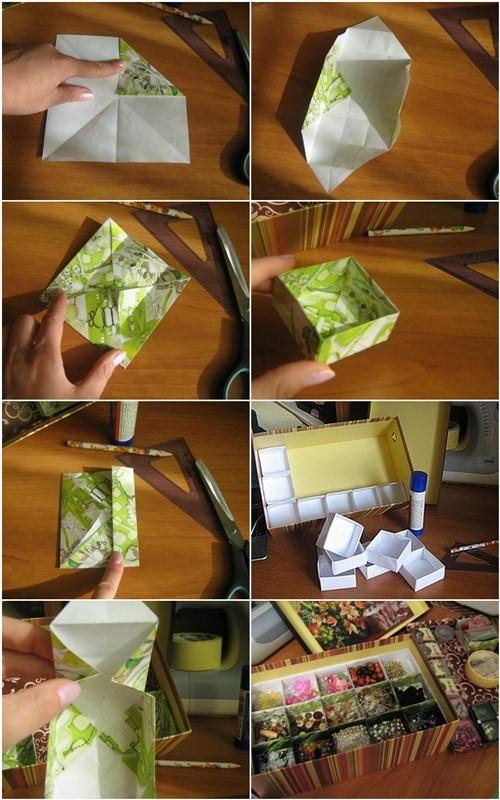 Как из коробки сделать красивую 173
