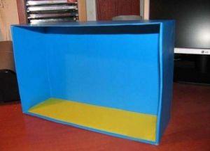 аппликация из цветной бумаги аквариум 3