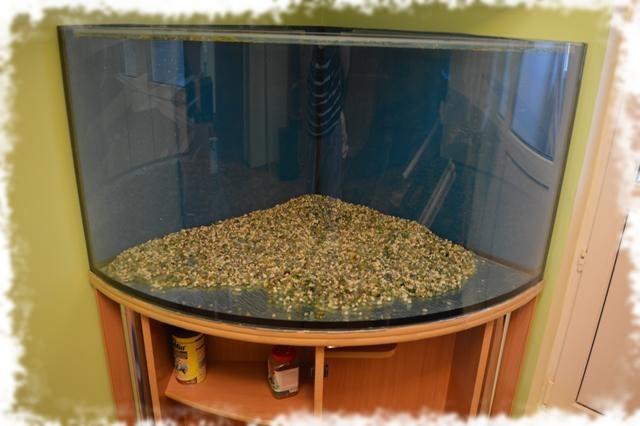 засыпка грунта в аквариум