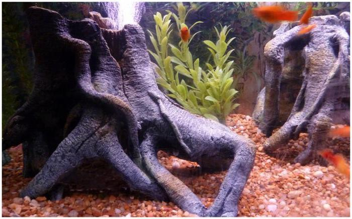 декор для аквариума своими руками