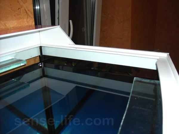 самодельная крышка для аквариума