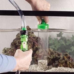чистка дна авквариума