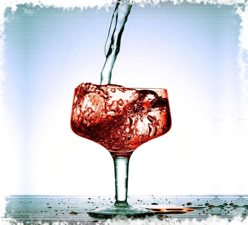 вода в вино