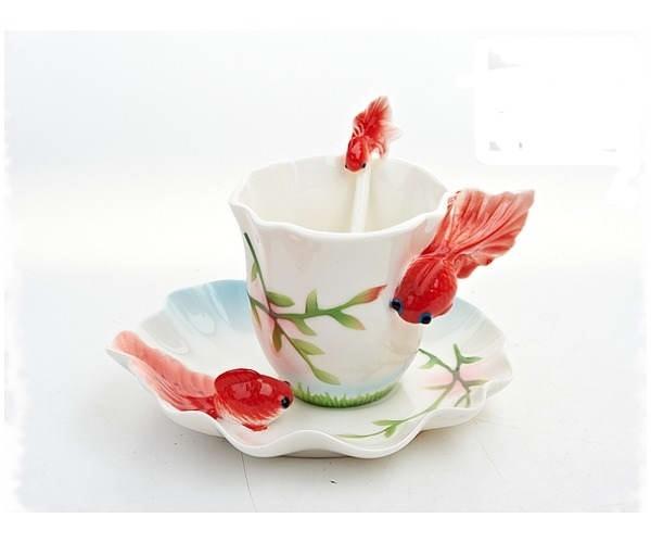 чай для рыбок