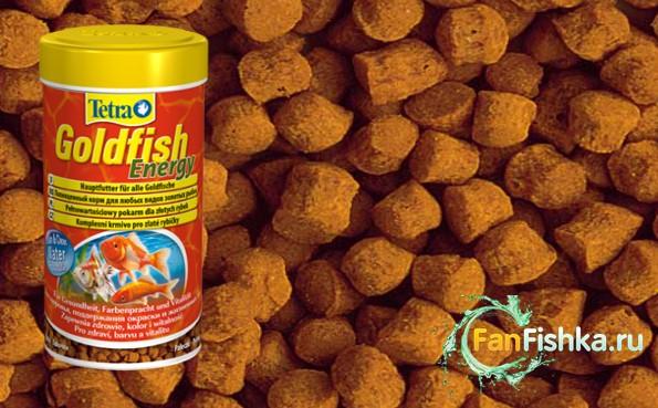 корм tetra для золотых рыбок
