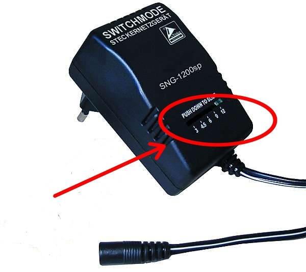 12 вольтный адаптер