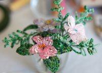 Цветы из бисера своими руками 22