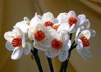 Цветы из бисера своими руками 25