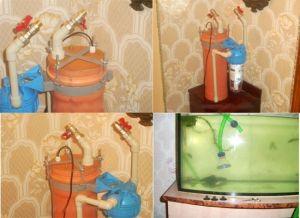 Внешний фильтр для аквариума своими руками35
