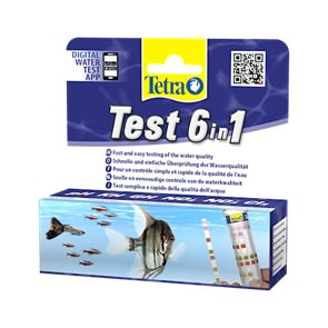 тесты полоски для аквариума 6 в 1