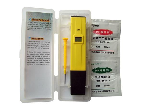 электронный pH тестер для аквариума