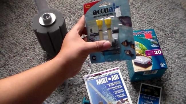 Фильтр для маленького аквариума.