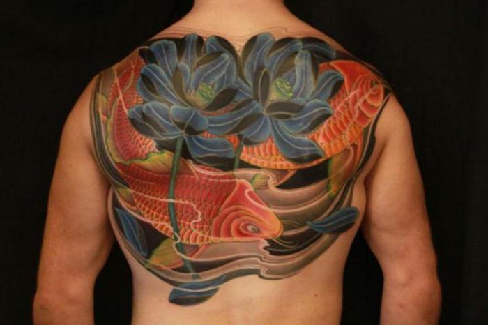 Татуировка Японский карп значение