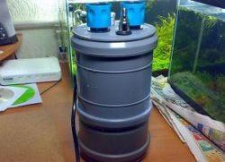 Наружный фильтр для аквариума