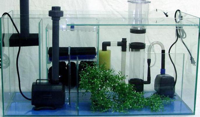 насос аквариумный погружной