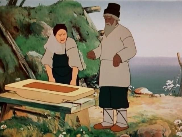 сказка про золотую рыбку текст