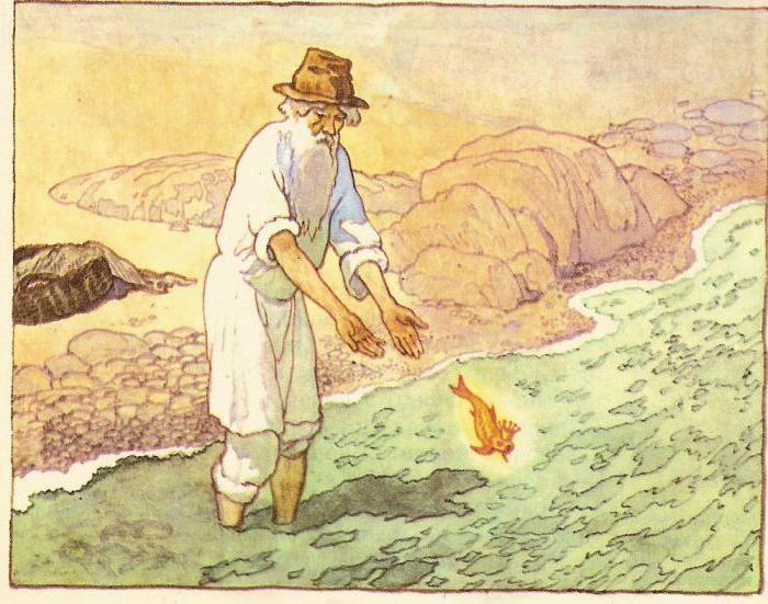 сказка про старика и золотую рыбку