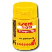 корм для мальков рыб сера микрон