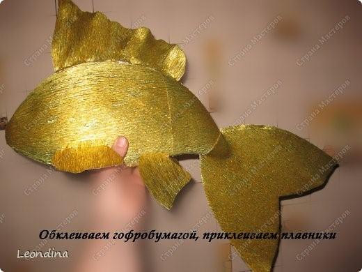 Рыбка из конфет своим руками 655