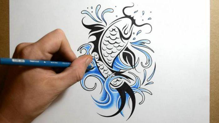 рыбы тату