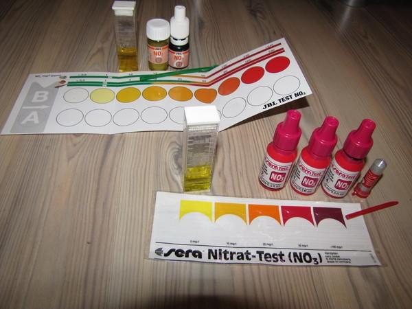 тест на нитраты