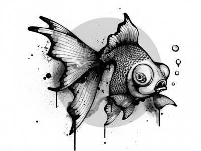 болезни рыб рисунок