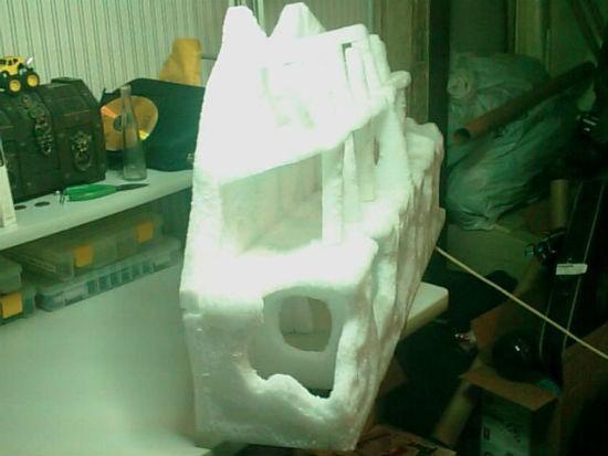 Задержание снега на крыше своими руками 28