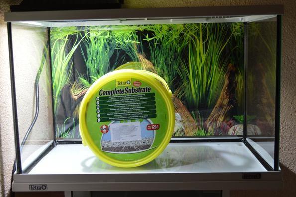 tetra complite substrate в аквариуме