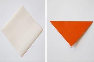 как сделать рыбку из бумаги 1