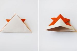как сделать рыбку из бумаги 5